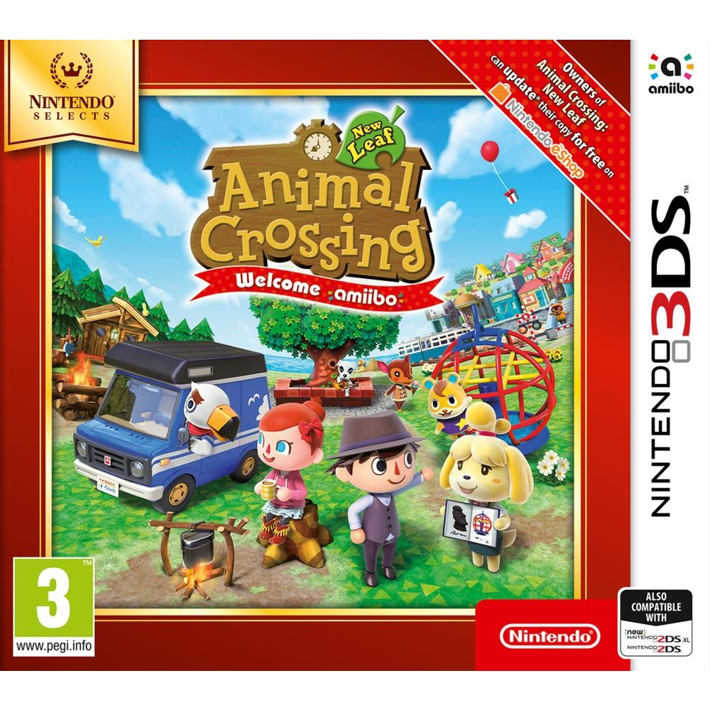 Coloriage Animal Crossing New Leaf.Animal Crossing New Leaf Welcome Amiibo Nintendo Selects