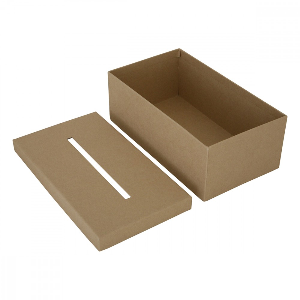 Boite En Carton Rectangle A Mouchoir 23 5x13x9cm Crealia