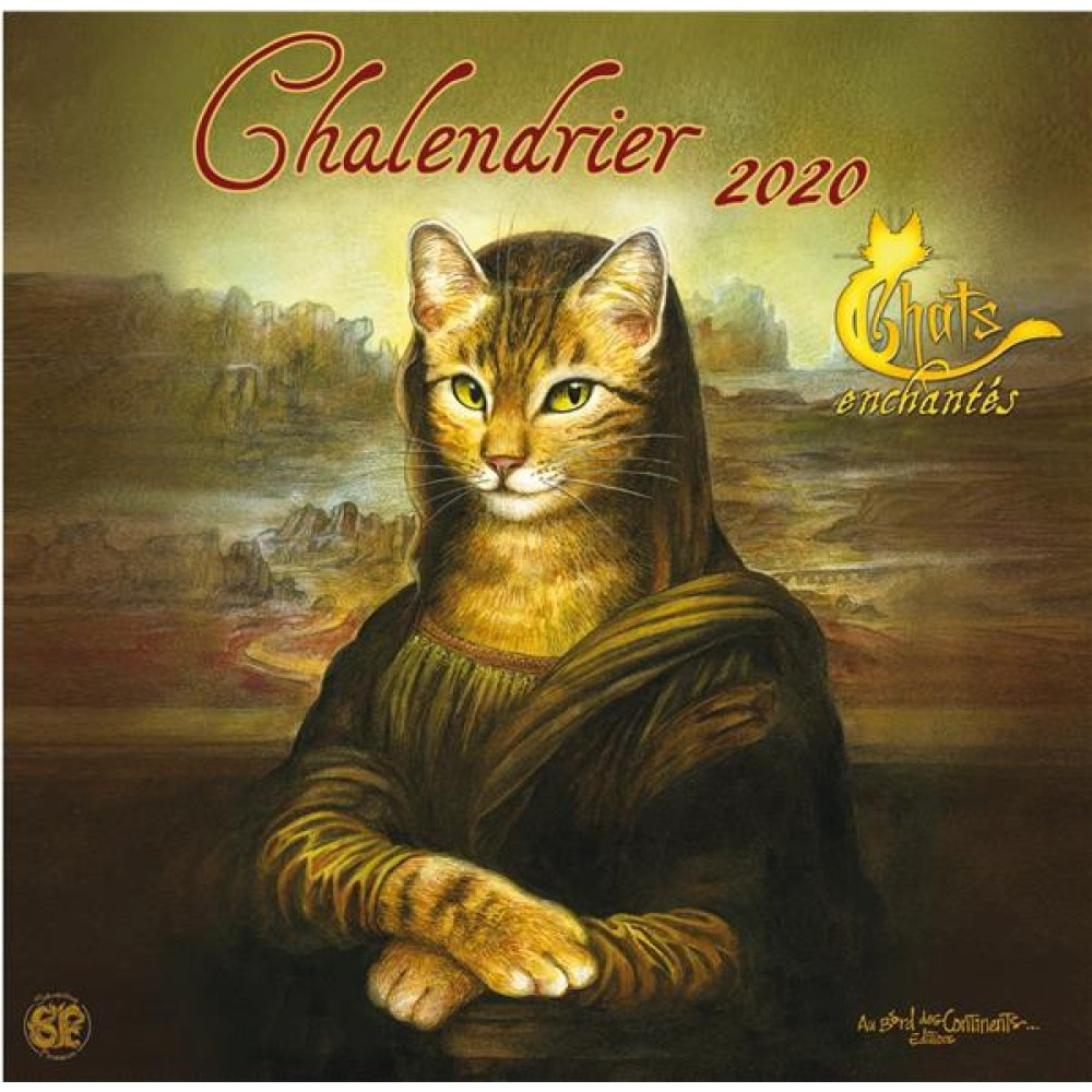 Calendrier Chat 2020.Chalendrier Chats Enchantes