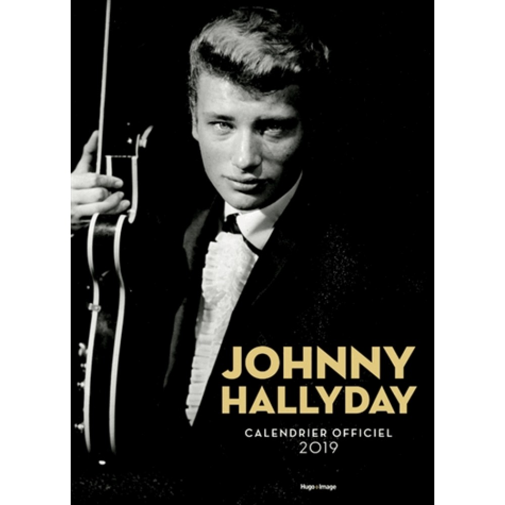 Calendrier Mural Grand Format.Calendrier Mural Johnny Hallyday 2019