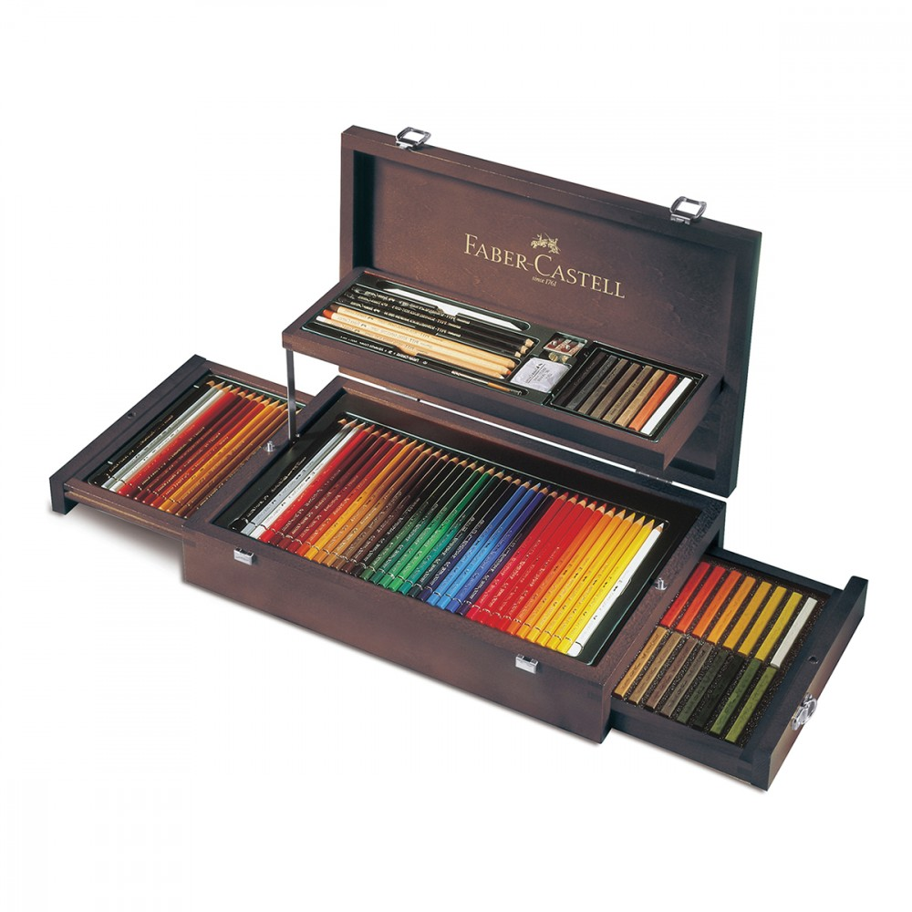 coffret collection beaux arts 126 craies et crayons. Black Bedroom Furniture Sets. Home Design Ideas