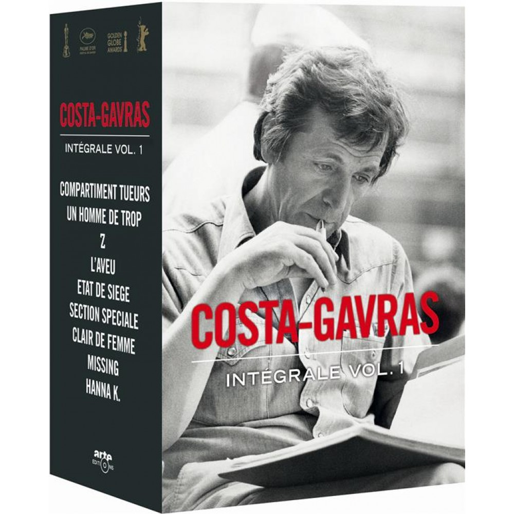 coffret costa gavras vol 1 1965 a 1983 dvd bluray