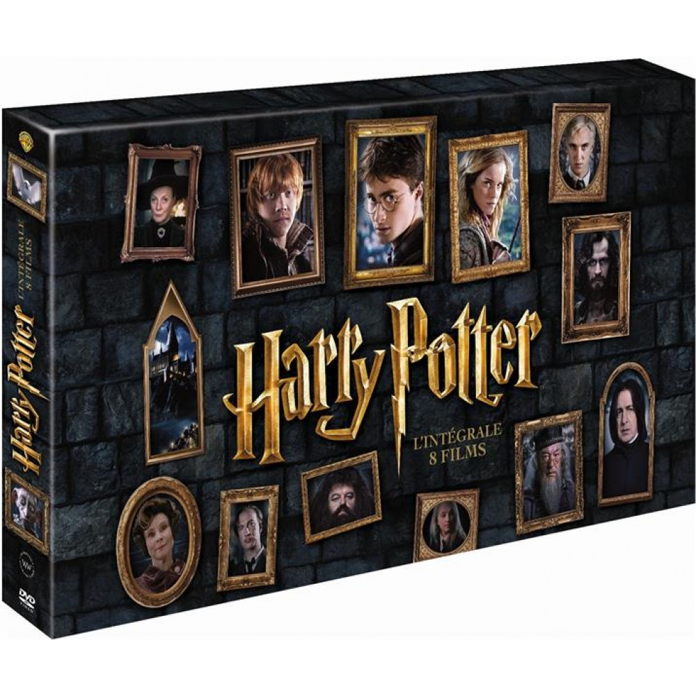 coffret integrale harry potter le monde des sorciers coffrets warner coffrets vid o dvd. Black Bedroom Furniture Sets. Home Design Ideas