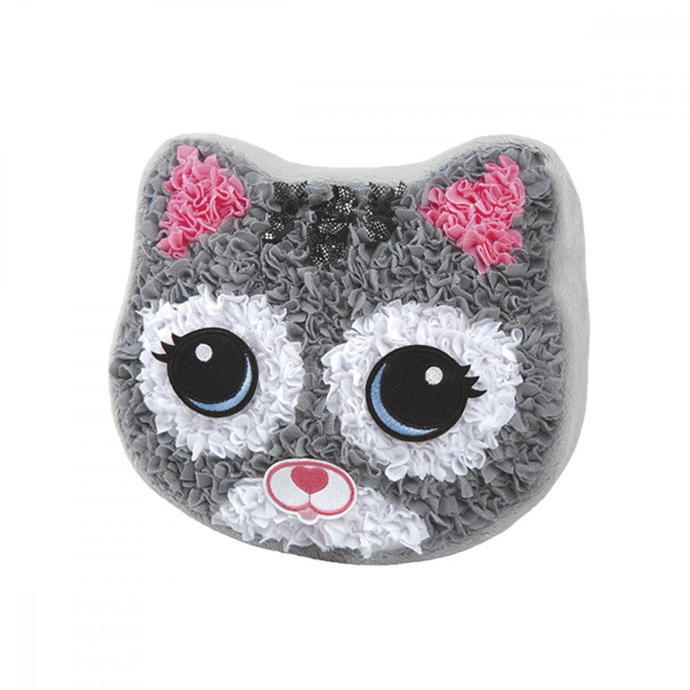 Plushcraft Coussin Chat A Fabriquer Ateliers Creatifs