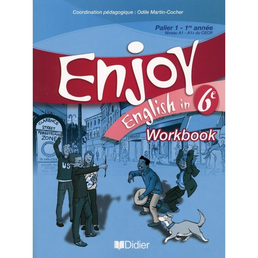 enjoy english 6eme workbook reponse