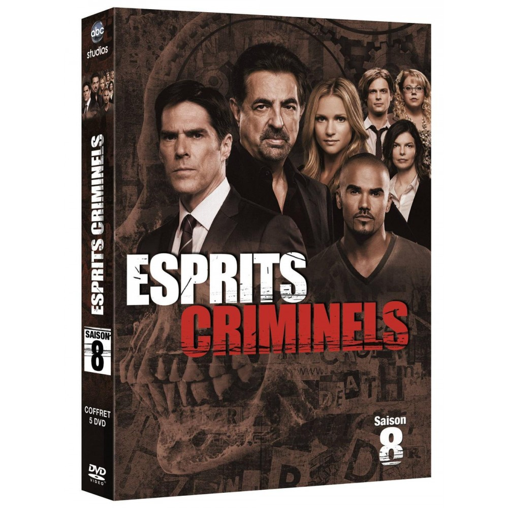 esprits criminels saison 8 dvd bluray dvd s ries tv cultura. Black Bedroom Furniture Sets. Home Design Ideas