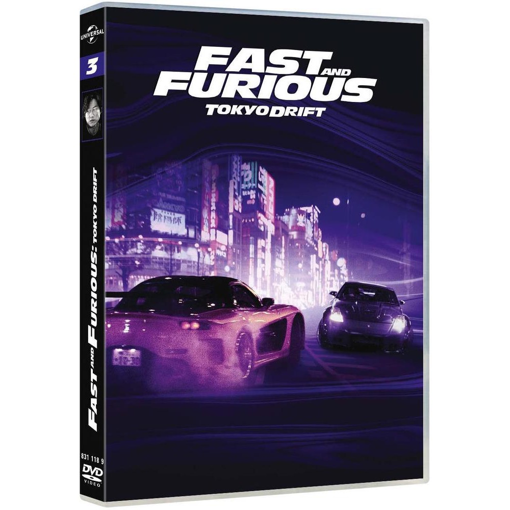fast and furious 3 tokyo drift dvd bluray dvd action aventure cultura. Black Bedroom Furniture Sets. Home Design Ideas