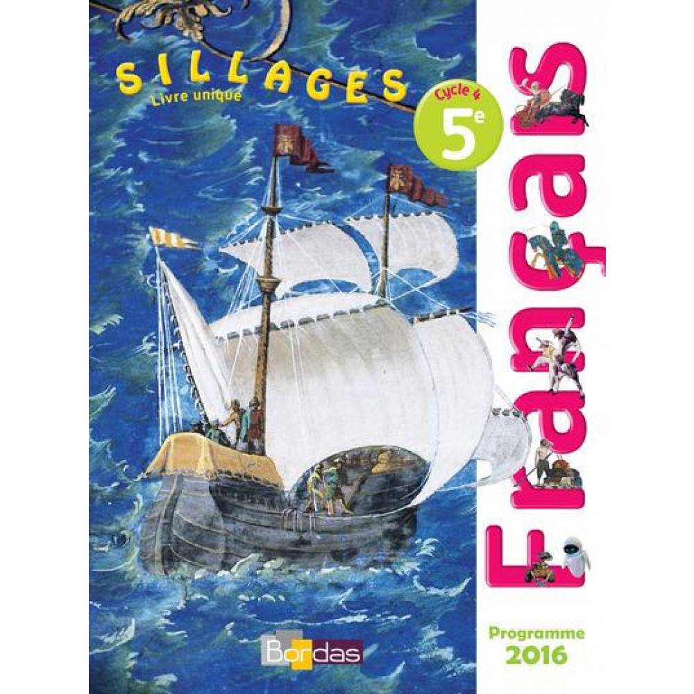 Sillages Francais 5e Cycle 4 Manuel De L Eleve