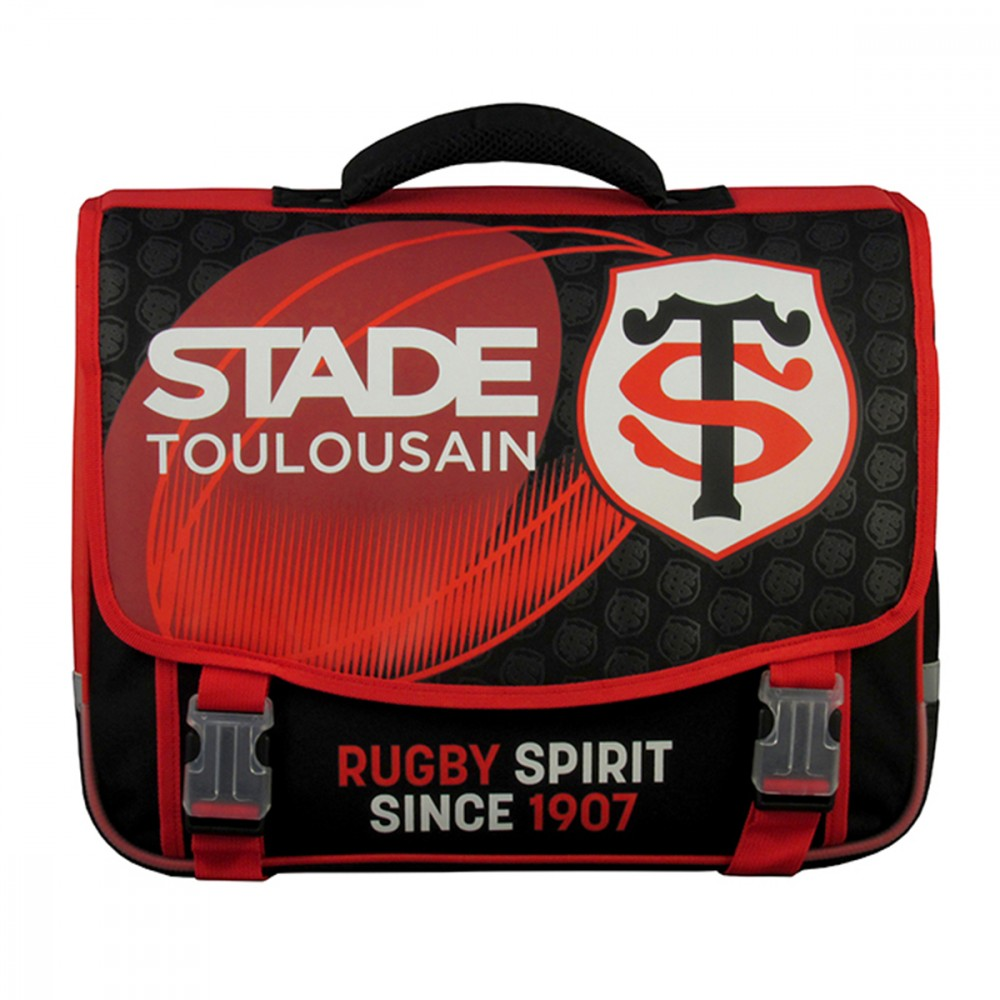 Cartable 41cm - Stade Toulousain - 2 compartiments wbKwOO