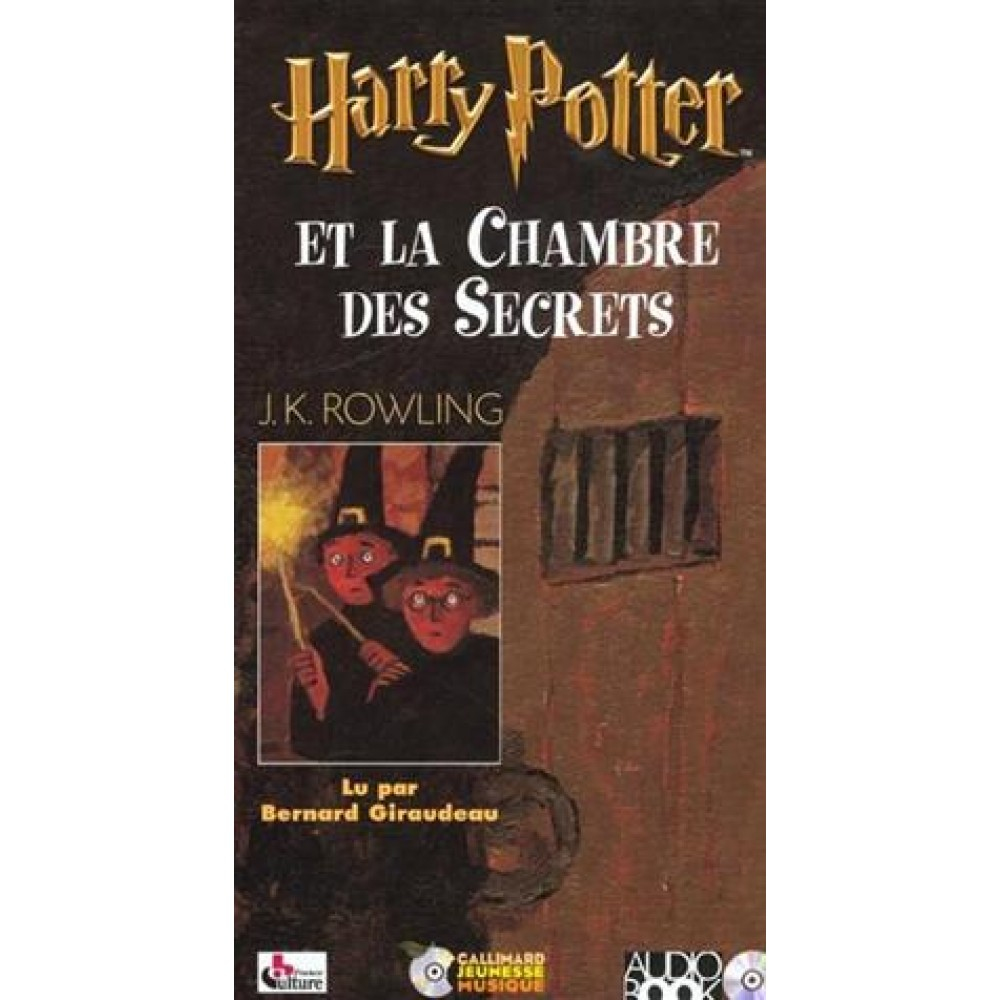 Harry Potter Tome 2 - Harry Potter et la Chambre des Secrets ... on
