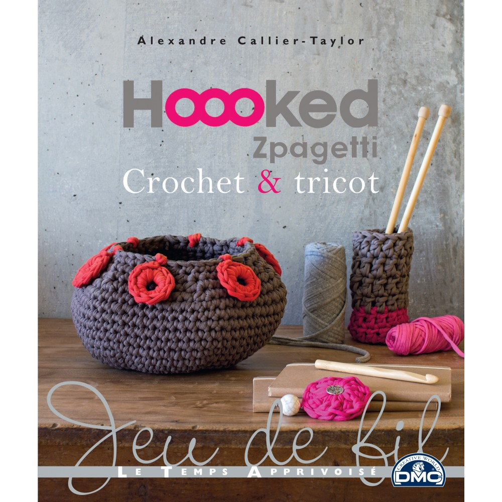 hoooked zpagetti crochet tricot livre couture cultura. Black Bedroom Furniture Sets. Home Design Ideas