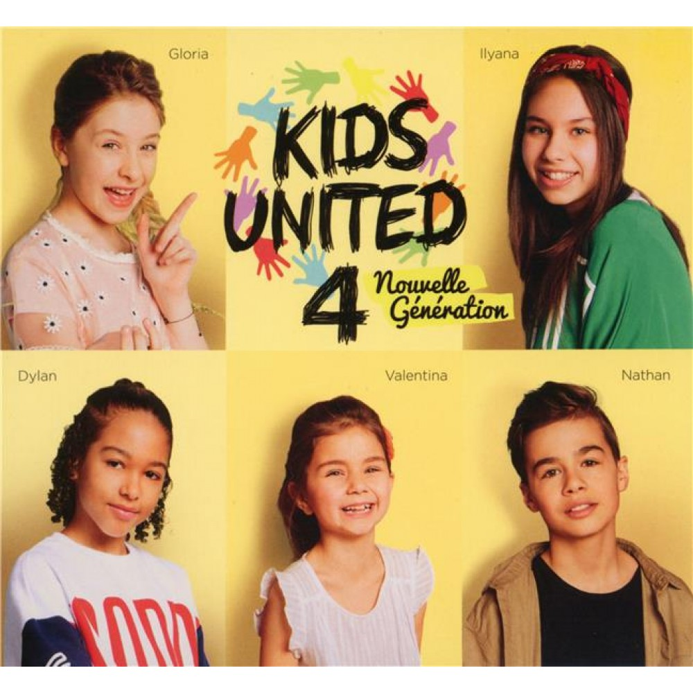 au bout de nos reves digipack kids united 4 nouvelle generation