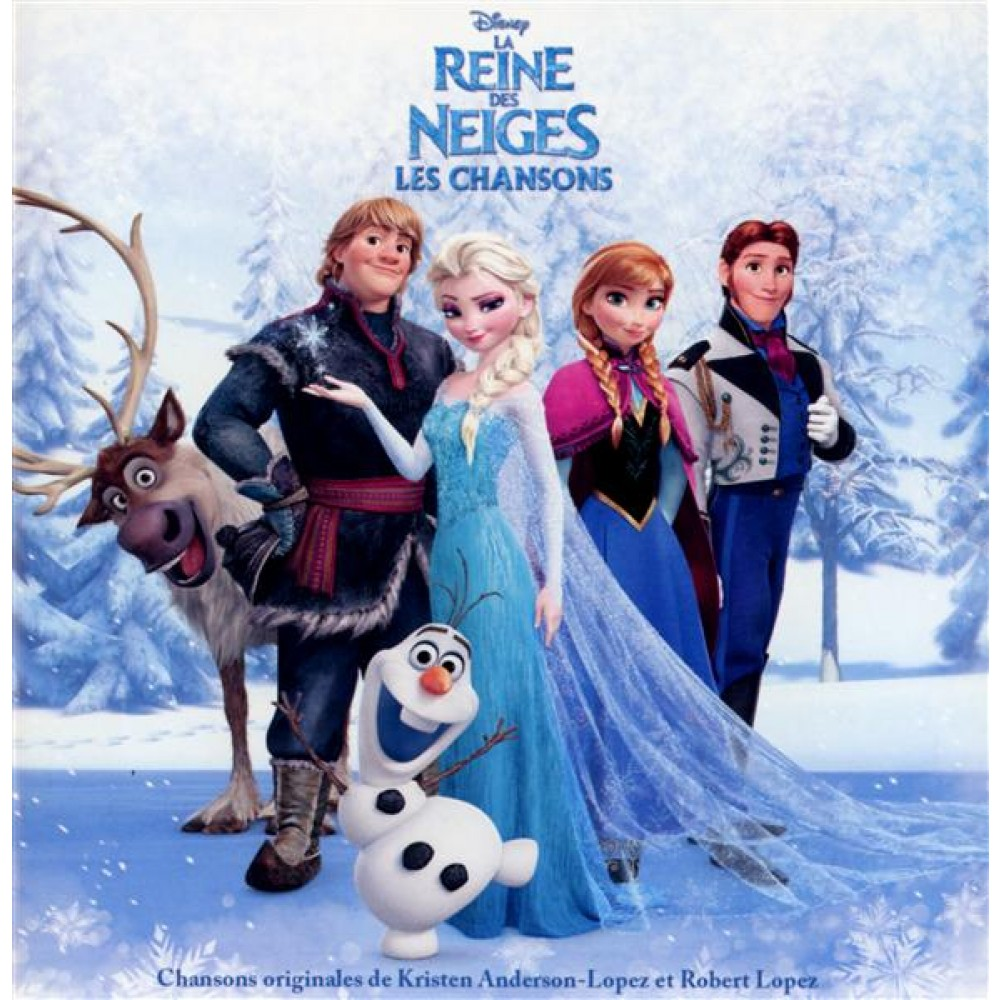 la reine des neiges les chansons dvd bluray musique disney cultura. Black Bedroom Furniture Sets. Home Design Ideas