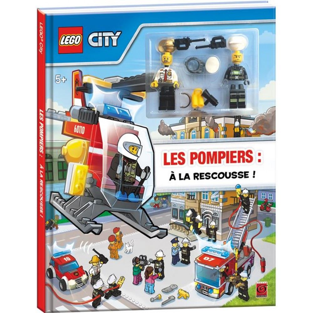 lego city les pompiers la rescousse livre jeux et coloriages cultura. Black Bedroom Furniture Sets. Home Design Ideas