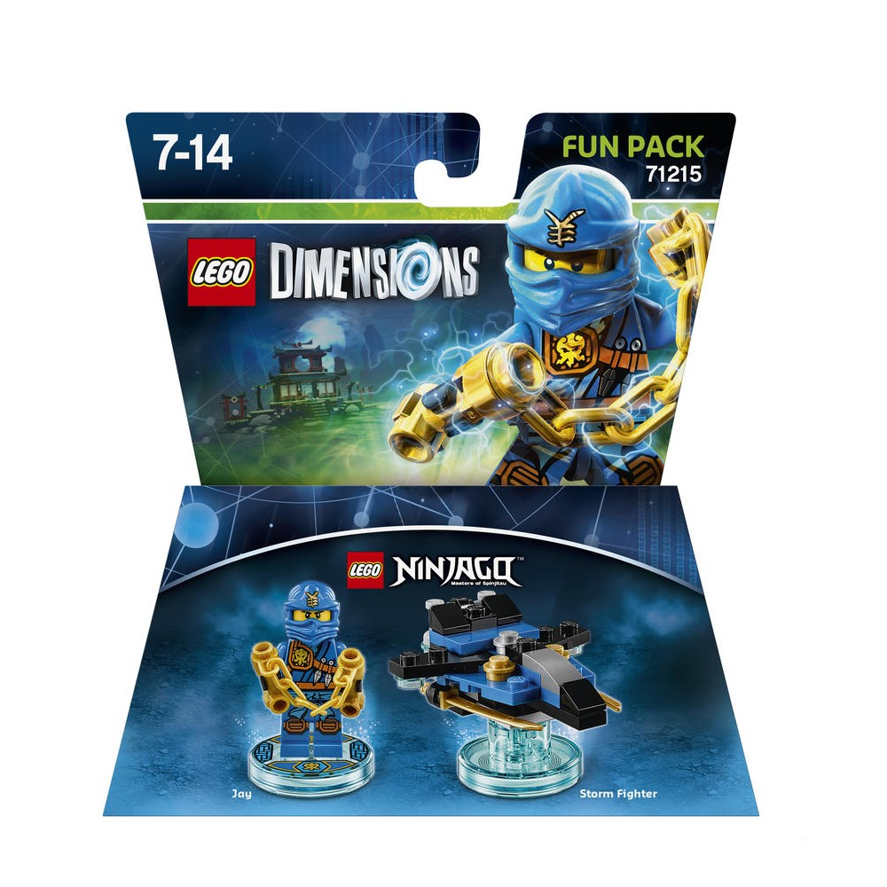 Jaylego Héros NinjagoUnivers Dimensions Pack Lego Consoles BoCxed