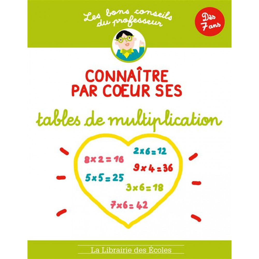 conna tre par coeur ses tables de multiplication d s 7