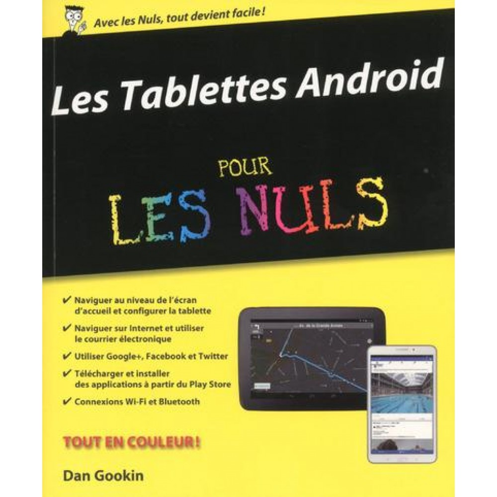 les tablettes android pour les nuls informatique art. Black Bedroom Furniture Sets. Home Design Ideas