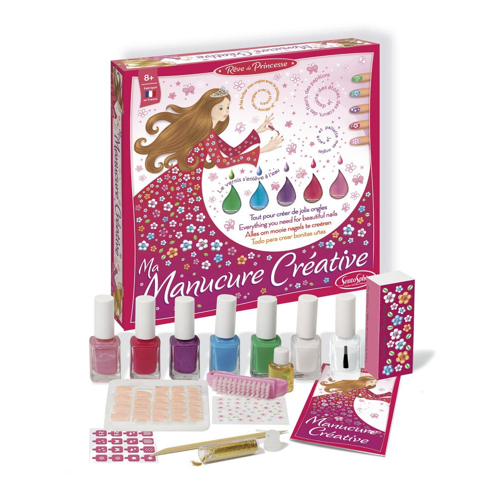 kit creatif ongles
