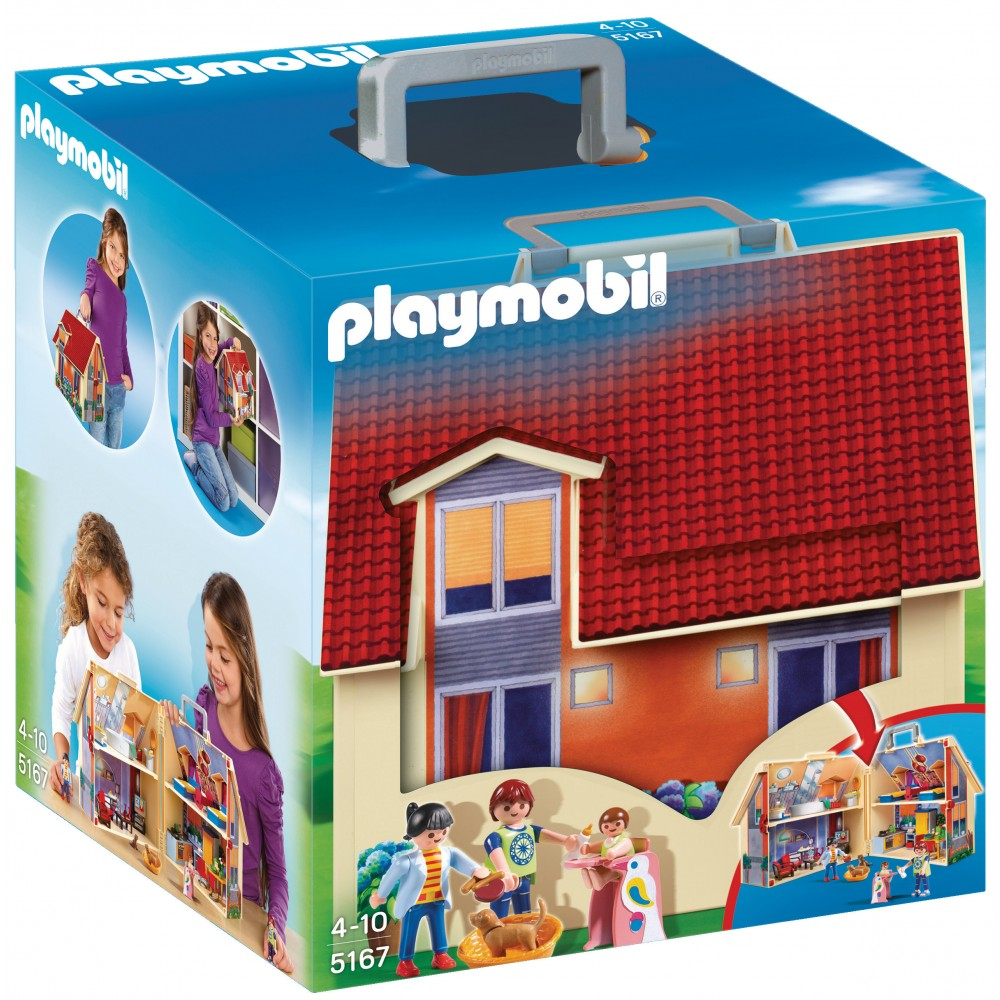 Maison transportable playmobil 5167