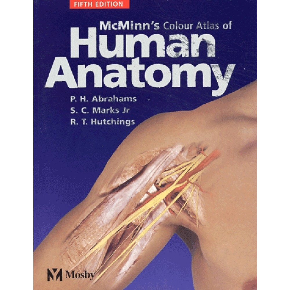 Mcminns Colour Atlas Of Human Anatomy Cd Rom Included 5th Edition