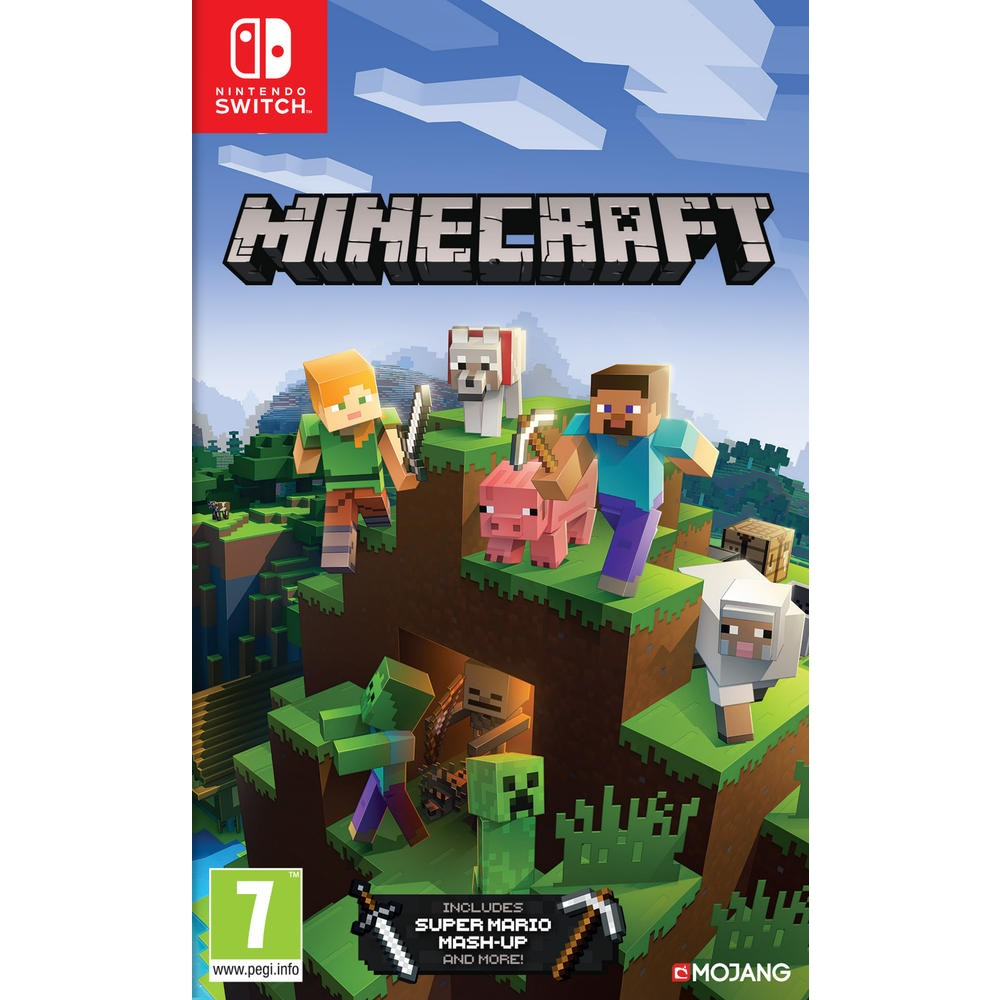 Calendrier Jeux Switch.Minecraft Nintendo Switch Edition Jeux Switch Nintendo