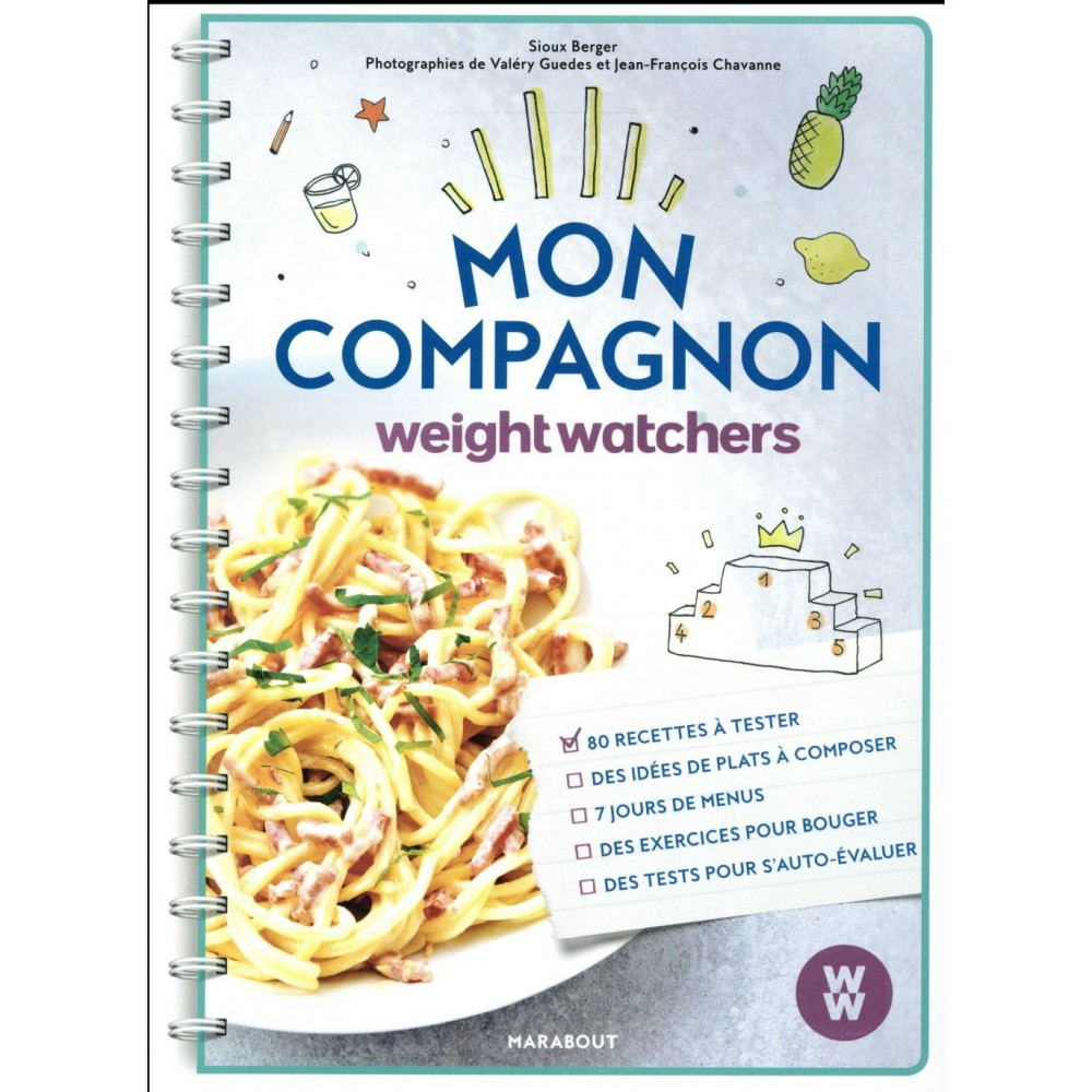 Mon Compagnon Weight Watchers Reinventer Son Quotidien Livres