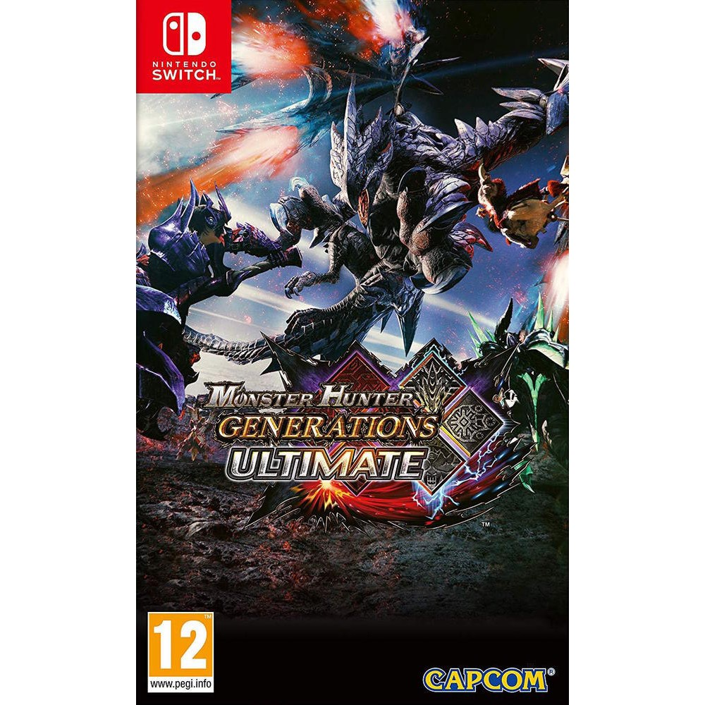 Monster Hunter Generations Ultimate - Jeux Switch - Nintendo Switch