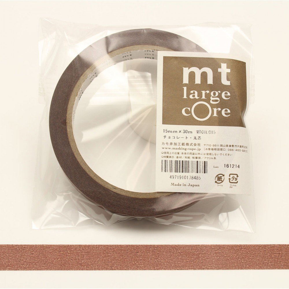 masking tape large core chocorate beaux arts. Black Bedroom Furniture Sets. Home Design Ideas