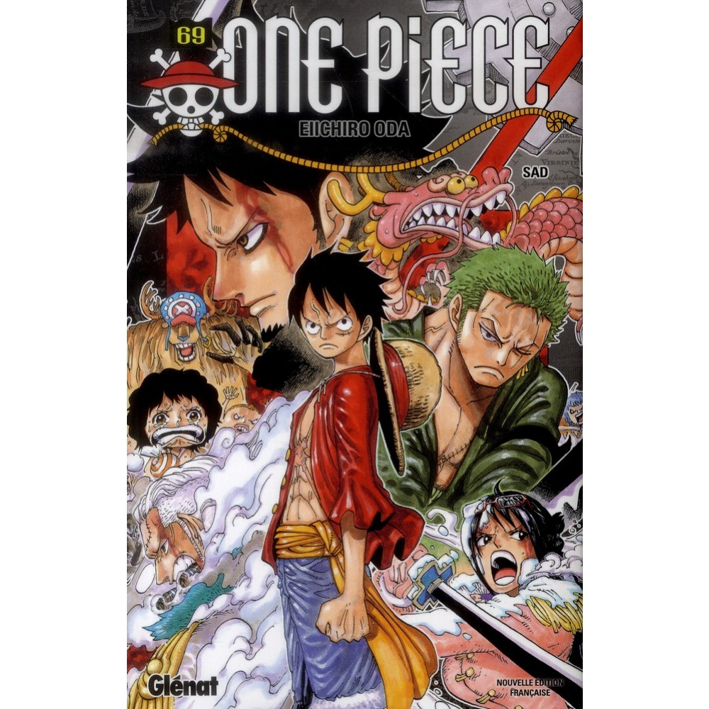 One Piece Tome 69 Sad