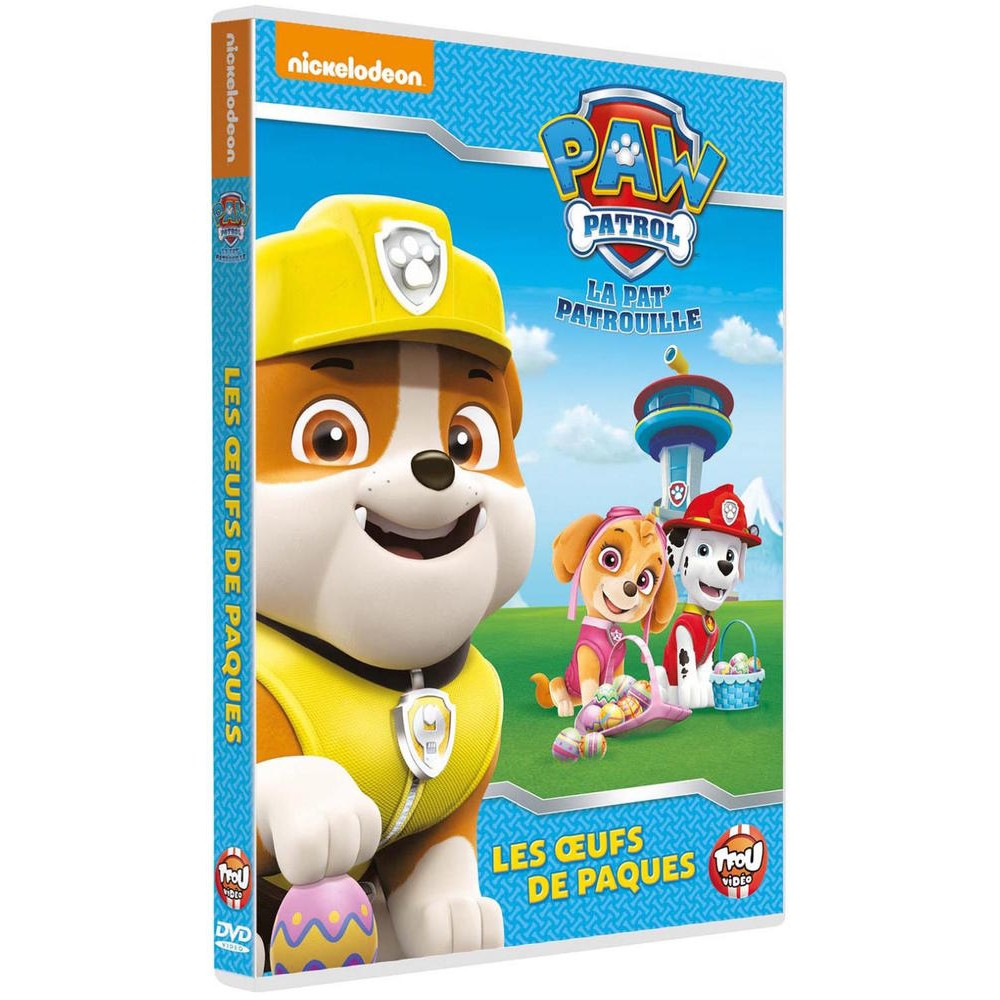 paw patrol la pat 39 patrouille 15 les oeufs de p ques dvd bluray dessins anim s cultura. Black Bedroom Furniture Sets. Home Design Ideas