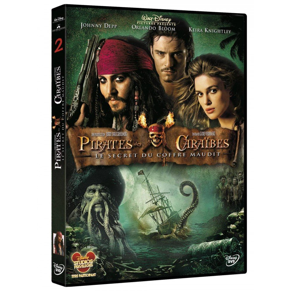 pirates des caraibes 2 le secret du coffre maudit dvd. Black Bedroom Furniture Sets. Home Design Ideas