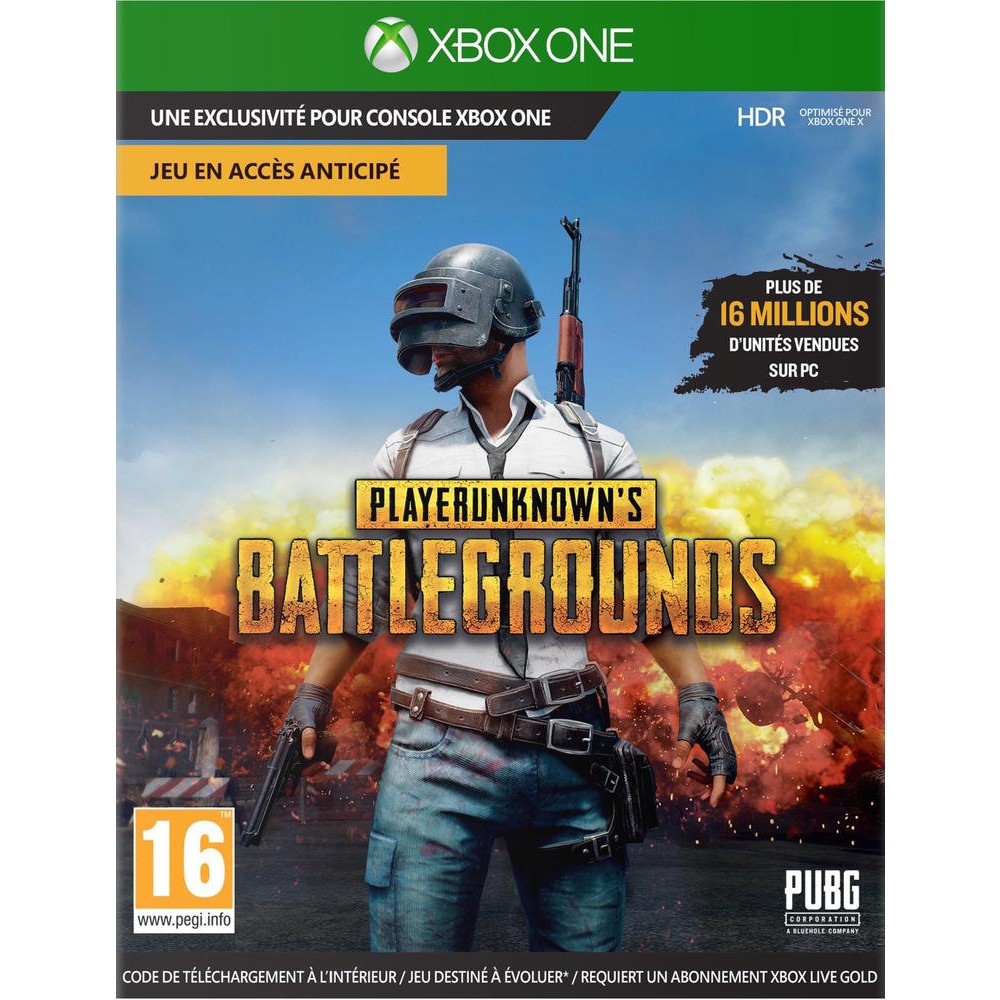Playerunknown S Battlegrounds Pubg Jeux Xbox One Xbox One