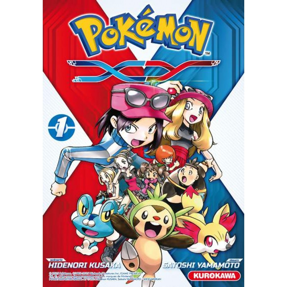 Pokemon Xy Tome 1