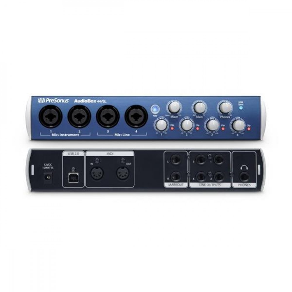 presonus carte son audiobox 44 usb instruments de musique interfaces cultura. Black Bedroom Furniture Sets. Home Design Ideas