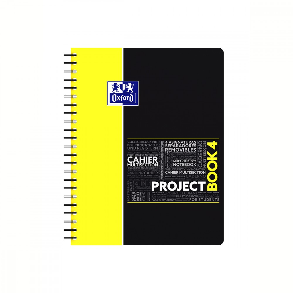 Cahier project book 21 x 29 7 cm 5x5 oxford fourniture scolaire petits carreaux cultura - Cahier oxford office book ...