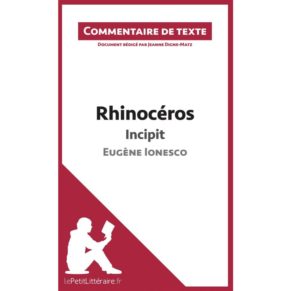 rhinoceros ionesco commentaire