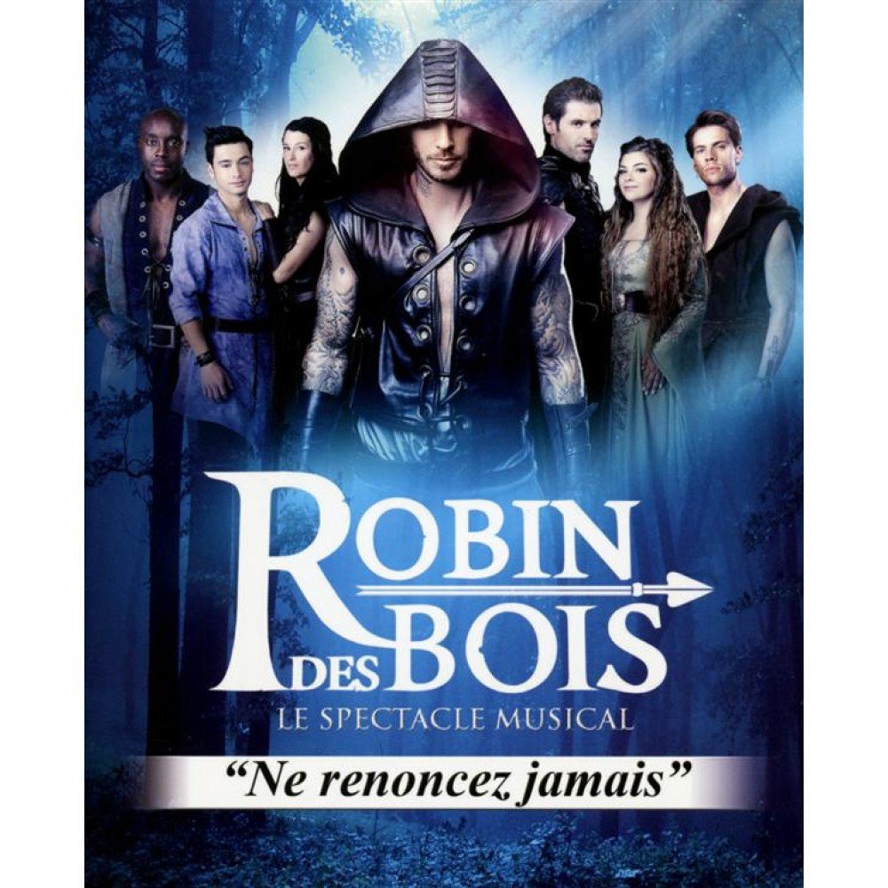 robin des bois - le spectacle musical  blu-ray   cd