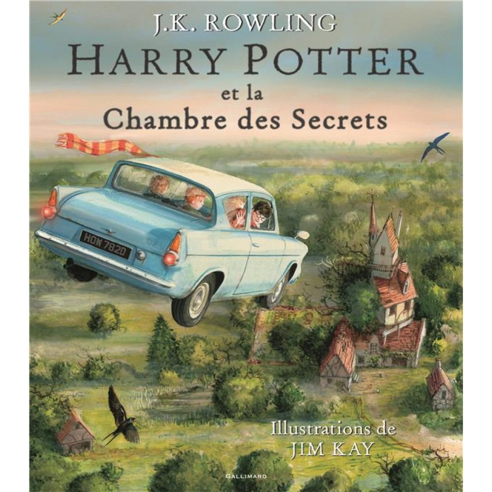 Harry Potter Tome 2 Harry Potter Et La Chambre Des Secrets