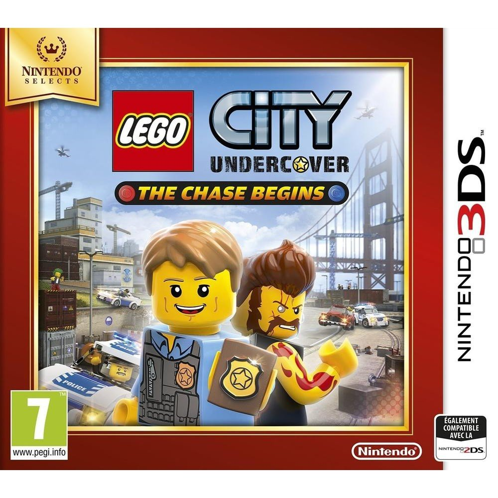 lego city undercover selects jeux vid o consoles jeux 2ds 3ds cultura. Black Bedroom Furniture Sets. Home Design Ideas