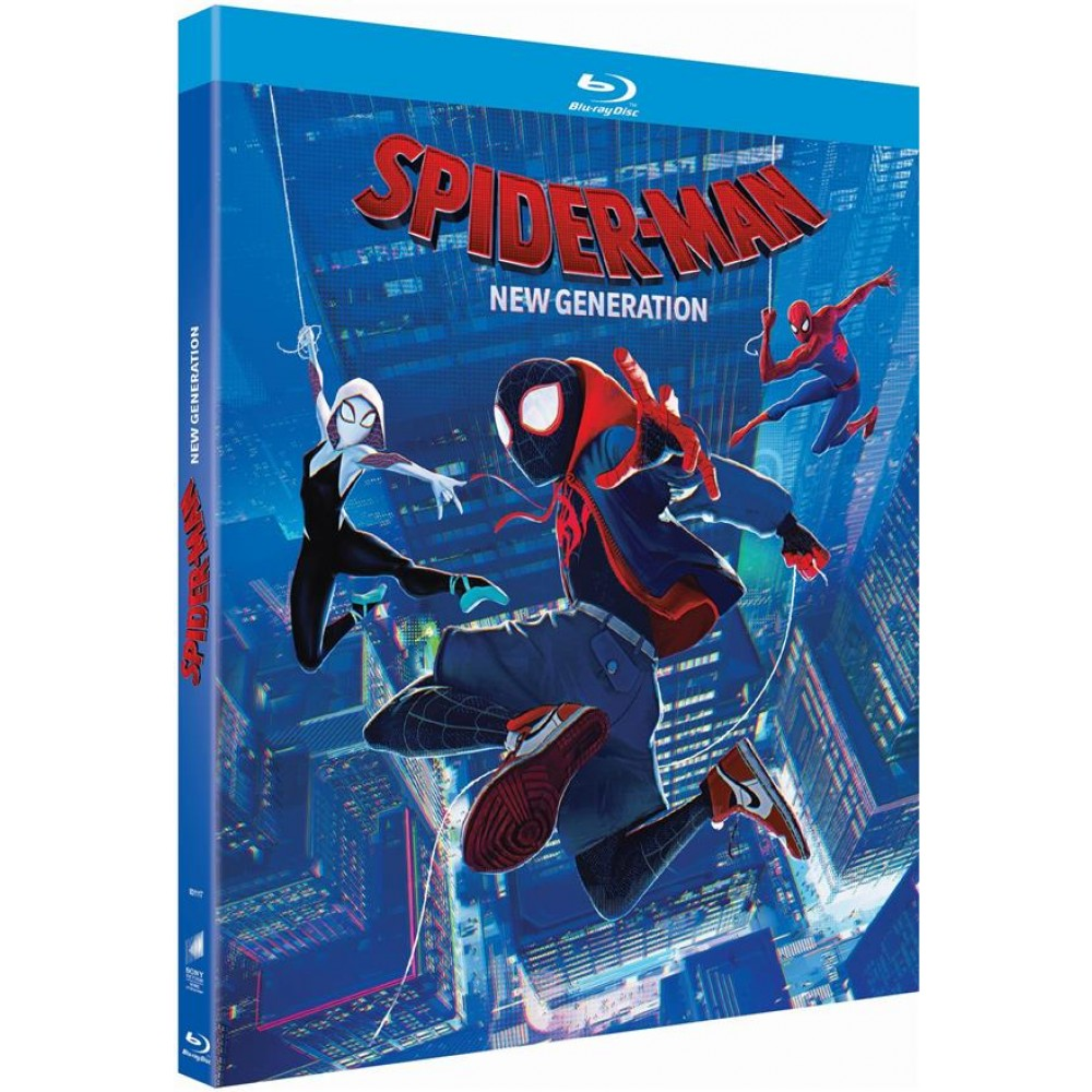 Spider man new generation blu ray blu ray dessins anim s blu ray jeunesse tous les blu - Coloriage spider man nouvelle generation ...