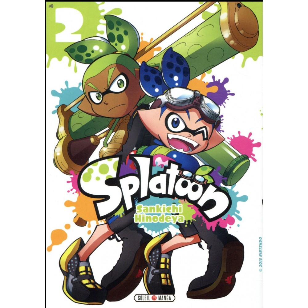 Splatoon Tome 2