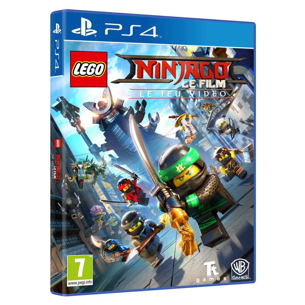 Lego ninjago movie game jeux ps4 playstation 4 univers consoles jeux vid o consoles - Jeux gratuits ninjago lego ...