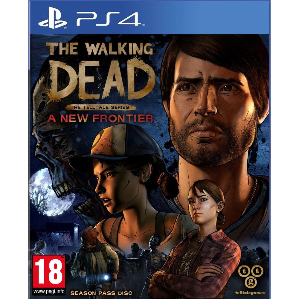the walking dead a new frontier jeux ps4 playstation 4 univers consoles jeux vid o. Black Bedroom Furniture Sets. Home Design Ideas