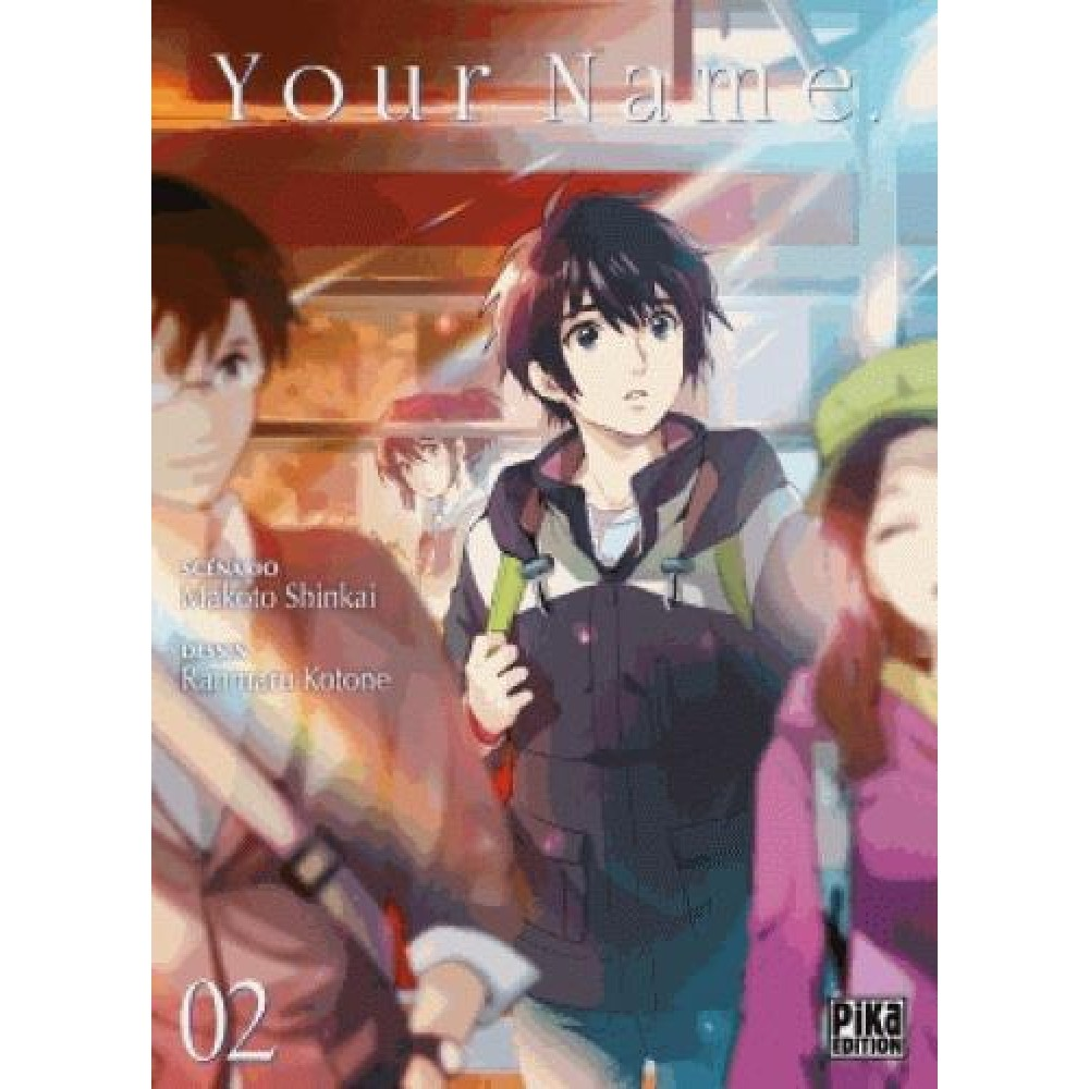 Your Name Tome 2 - Manga - Bd - Manga - Humour