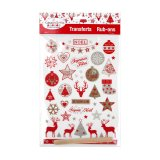 Transfert - Rub-ons - rouge/blanc/argent - Cultura Collection Noël Cosy
