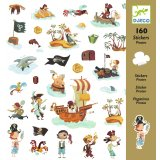 160 stickers pirate Djeco