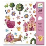 160 stickers princesses Djeco
