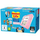 Console Nintendo 2DS Rose & Blanc - Pack Tomodachi Life
