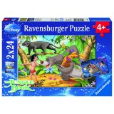 Puzzle Amis Mowgli livre jungle - Ravensburger