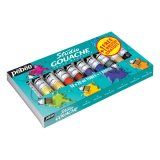 Pack Gouache studio - 10 tubes de 20ml
